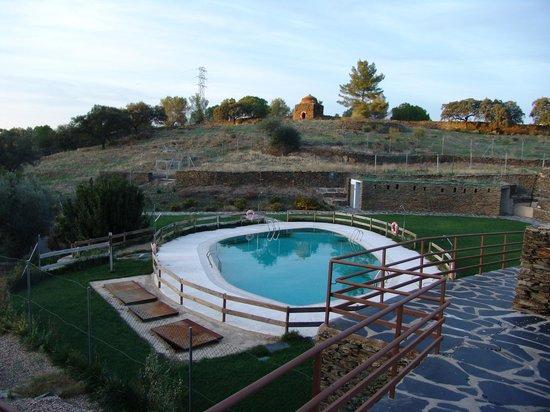 Hospederia Conventual de Alcantara: Zona de la piscina