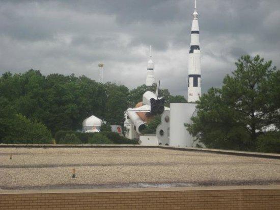 Huntsville Marriott at the Space & Rocket Center: Nice view