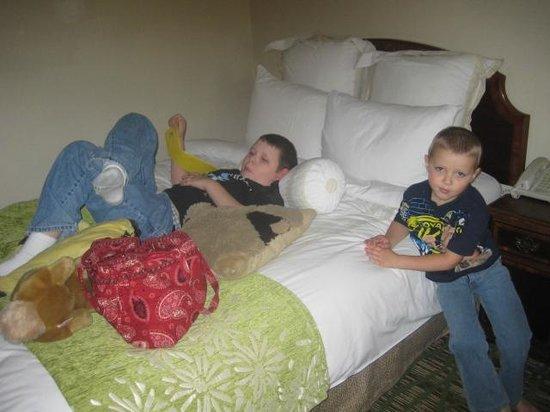 Huntsville Marriott at the Space & Rocket Center: Nice bed