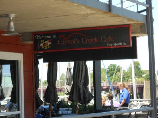 Carrol's Creek: Welcome to brunch.