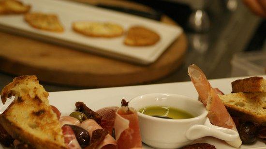 Waimea Restaurant: Taste's of Italian cold cuts