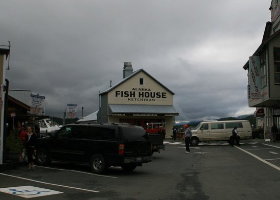Alaska Fish House: The front of the restaurant