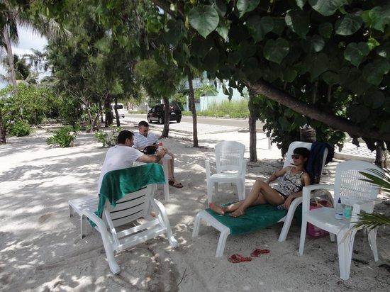 Ripple Beach Inn: on the beach