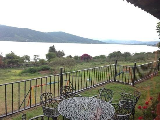 El Lago Desde La Terraza Picture Of Restaurante Casa