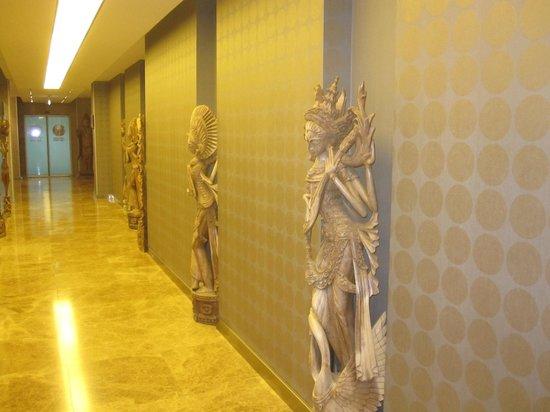 Bilkent Hotel and Conference Center : Entrada al SPA