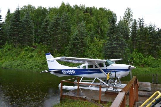 Talkeetna Alaskan Lodge: on the way to town....