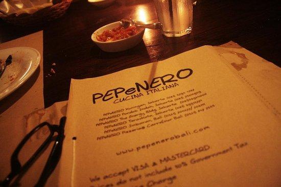 PEPeNERO Cucina Italiana: Pepenero Bali