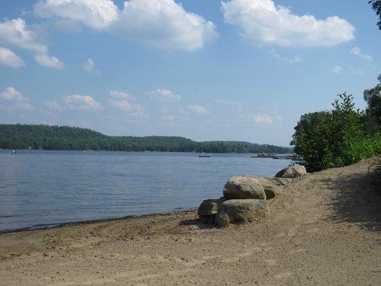 Blue Spruce Resort: Lake Oxtongue