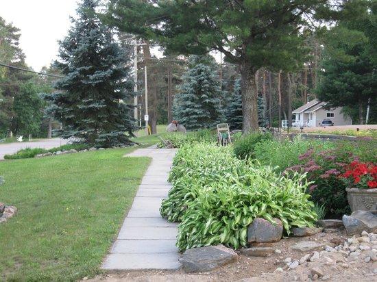Blue Spruce Resort: Grounds