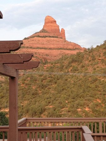Sedona Views Bed and Breakfast: View from Memories and Moonbeams