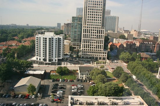 Loews Atlanta Hotel: A view, but nothing interesting to look at.
