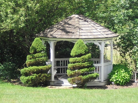 The Belsar Inn Bed & Breakfast : Backyard gazebo