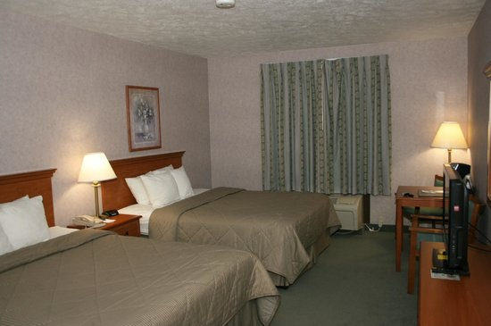 Comfort Inn Huntingdon : Double bed room