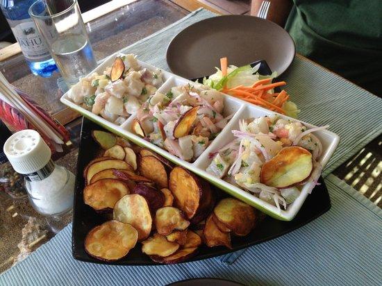 Makona Restaurant : O cerviche