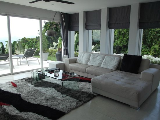 Stylish lounge room - Picture of Infinity Residences & Resort Koh ...