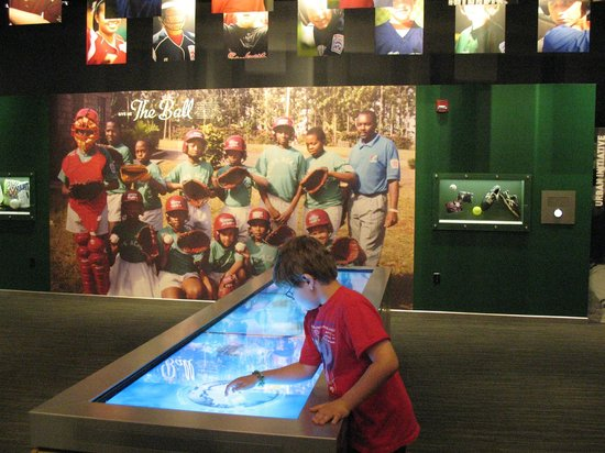 World of Little League: Peter J. McGovern Museum and Official Store: Interactive touch screens with quizzes
