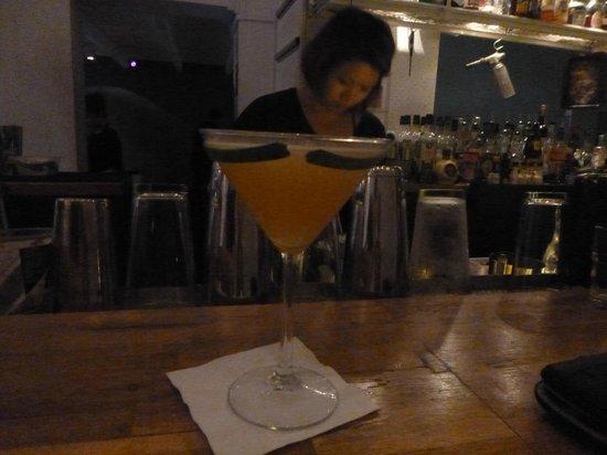 Bar Stories: Cucumber Moustache Cocktail