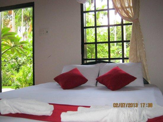 Sea Winds Resort : Nice garden view room