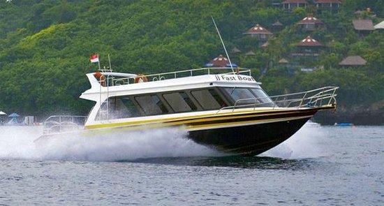 Sanur, Indonesia: JJ Fast Boat