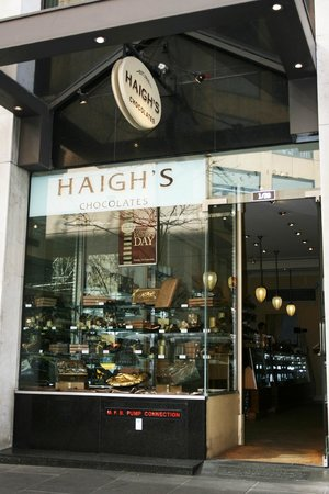 Haigh's Chocolates Collins Street