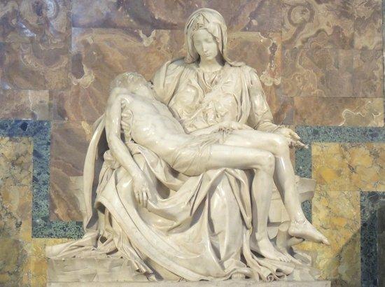 Starhotels Metropole: Michelangelo's Pieta in St Paul's