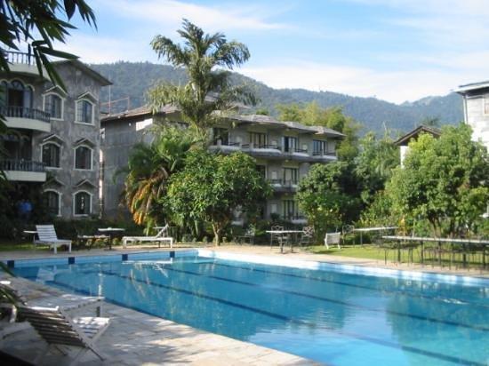 we at swimming pool picture of hotel barahi pokhara tripadvisor