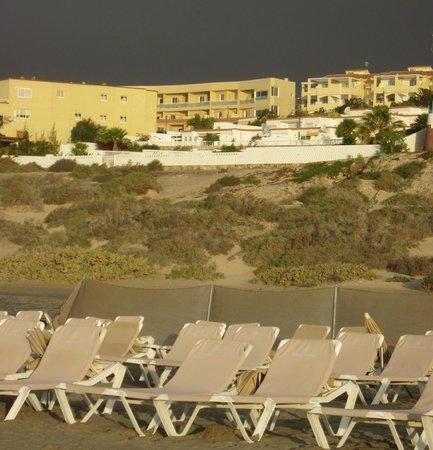 Morasol Atlantico: Blick vom Strand