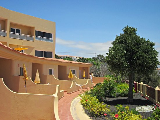 Morasol Atlántico: Eingang Gartenseite!