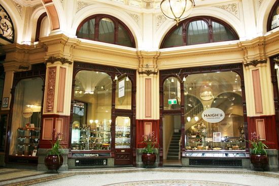 Haigh's Chocolates Block Arcade