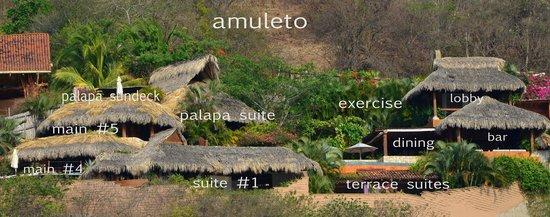 Amuleto: Amuleto Site Map