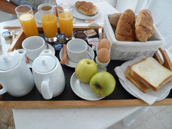 Casa Bianca: Breakfast!!