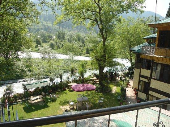 Island Resort: view from window