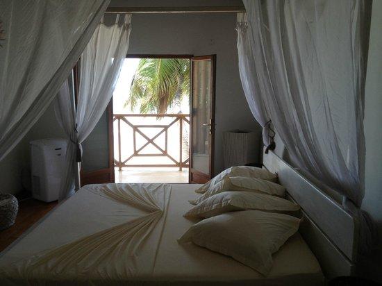 Clef des Iles: bed