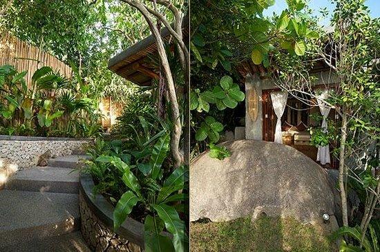 View Point Resort: Villa 5: Entrance & Garden
