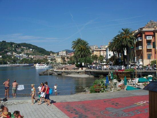 Rapallo, Itálie: lungomare