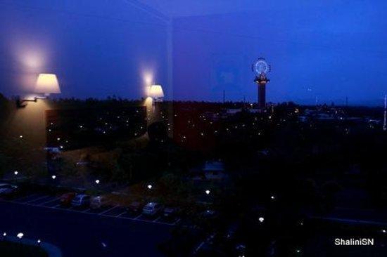 Wonderla Resort : night view from the room