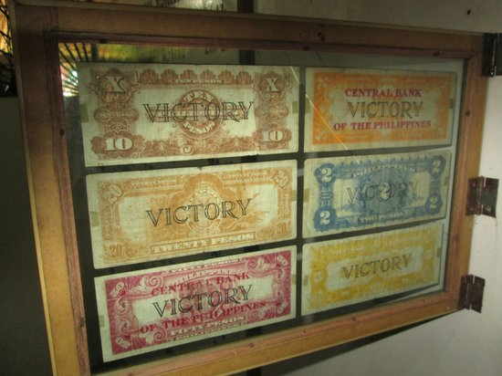 Palawan Special Battalion WW2 Memorial Museum: VICTORY MONEY