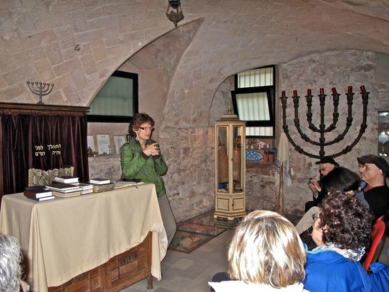 Jewish Barcelona Urban Cultours : Learning, in the Ancient Synagogue