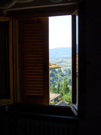 Villa Sorriso: From my window . . .