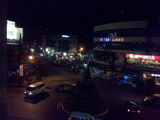 Cherry Midtown Hotel: View from Room at Night