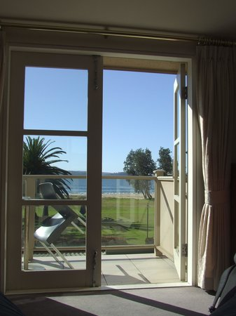 The Seahorse Inn: view from our window