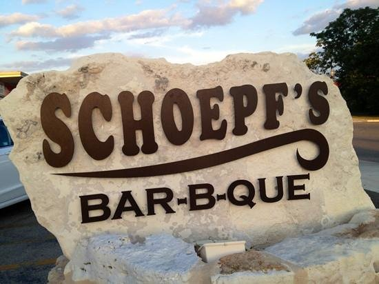 Schoepf's Old Time Pit Bar B Que: landmark