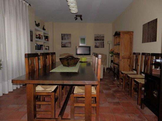 Casa Rural Descanso del Quijote: Salón
