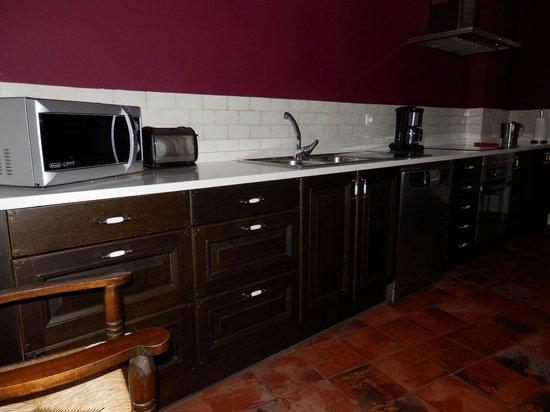 Casa Rural Descanso del Quijote: Cocina
