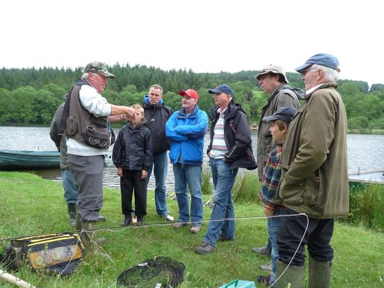 Esthwaite water trout fishery: Tuition is available