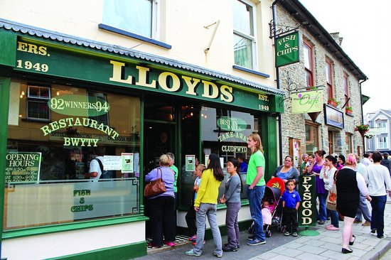 Lloyds Fish and Chip Shop