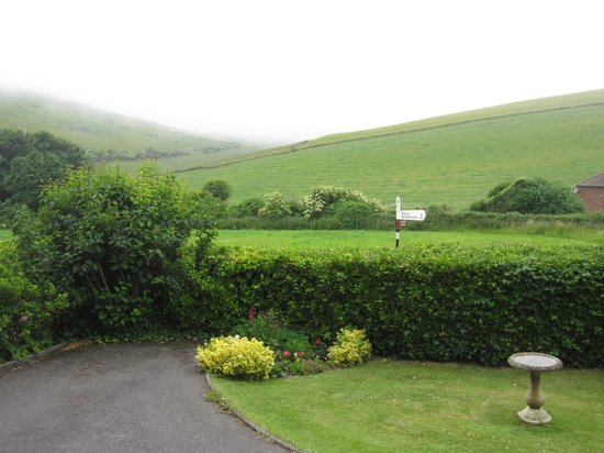 Bindon Bottom B&B: The view at the front!