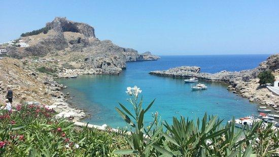 Agios Pavlos Beach (Saint Paul): Paradisiaco!!