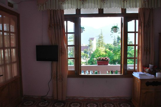 View from room with city view of Kenpas Hotel