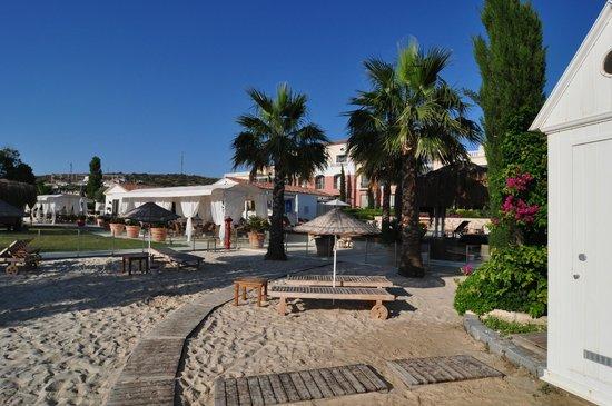 Antmare: Small private beach